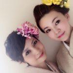 成人式以来の着物。京都の着物ショーにミセス日本の会の皆様とモデル出演させていただきました!